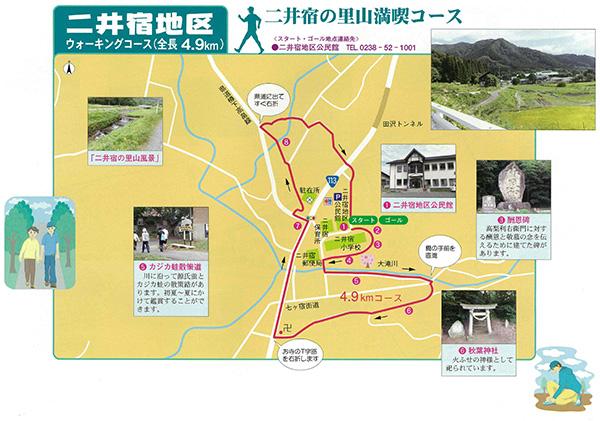二井宿地区|二井宿の里山満喫コース
