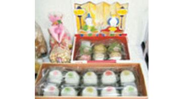 天童雛飾り雛菓子