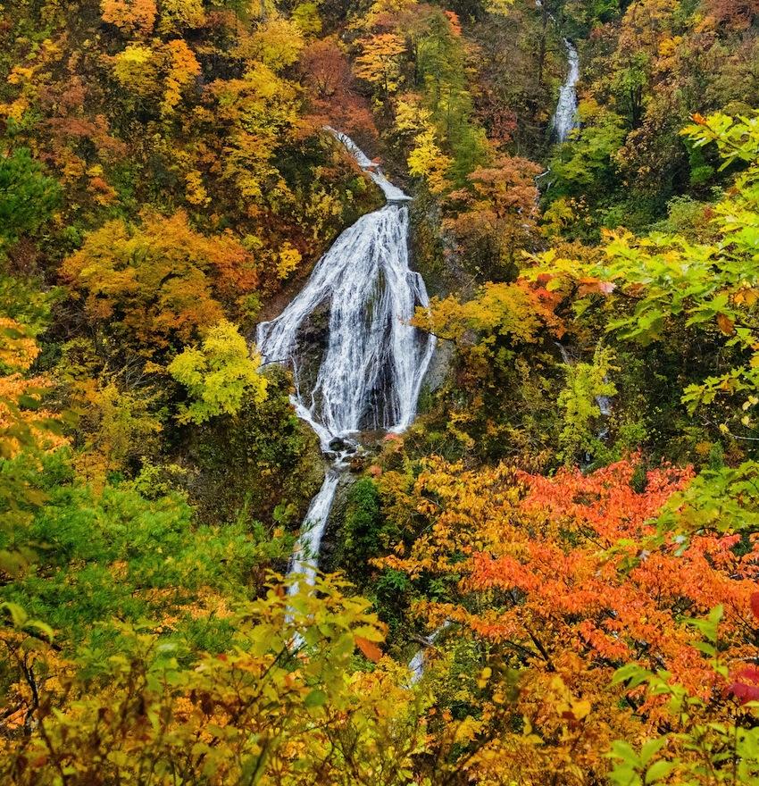 七ツ滝(鶴岡市)