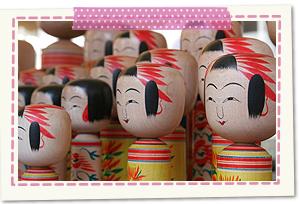 Yamagata tradition kokeshi doll hall (Yamagata-shi)