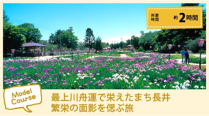 最上川舟運で栄えたまち・歴史的建造物が調和するまち「長井」