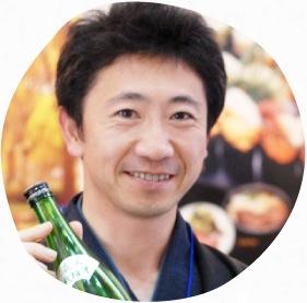 米鶴酒造株式会社 代表取締役 梅津陽一郎