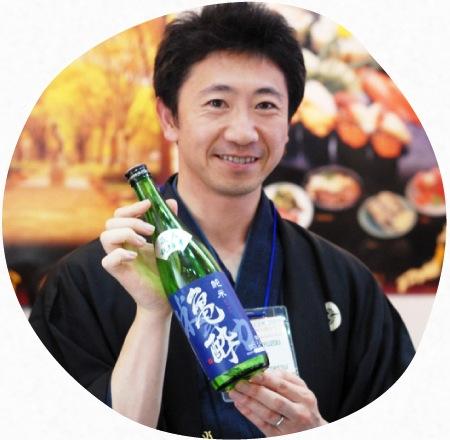 米鶴酒造株式会社 代表取締役社長 梅津陽一郎
