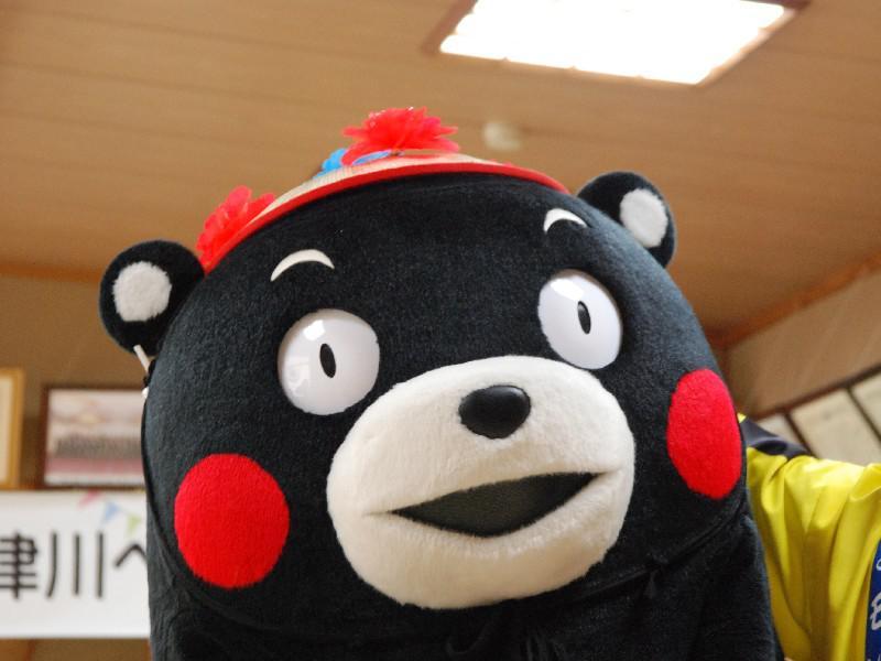 中津川にくまモン出現!!:画像