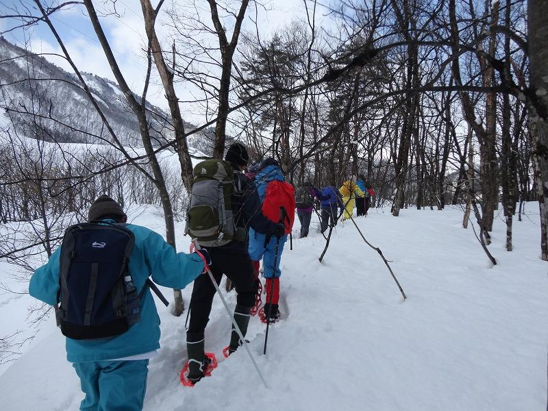 冬の里山を登ろう!熊野山スノートレッキングを開催します:画像