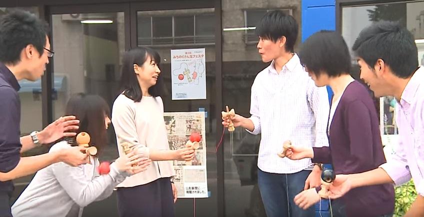 運命の赤い玉(2015年度長井市CM) :画像