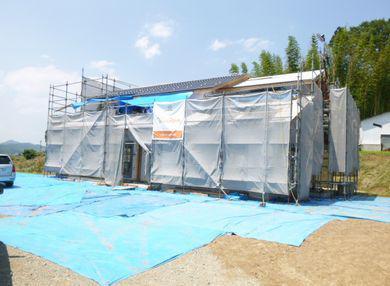 【天栄村・G邸 】 灼熱の屋根工事:画像