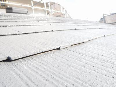 【郡山市台新・Sさん宅の改造 】コロニアル屋根の塗替え:画像