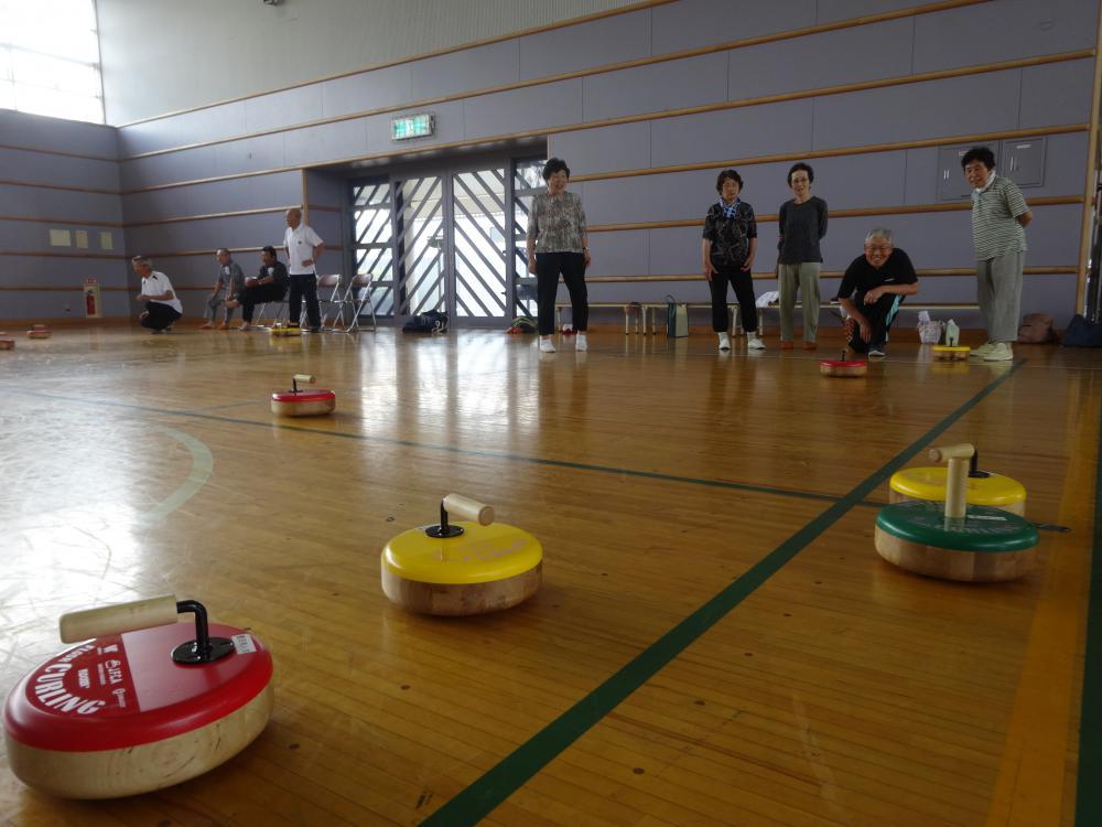 【アフロカーリング練習会Part2】《床の上のカーリング》:画像