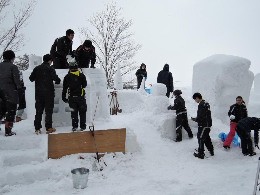 第41回上杉雪灯篭まつり 創作雪像コンテスト参加者募集!【平成29年12月15日まで】:画像